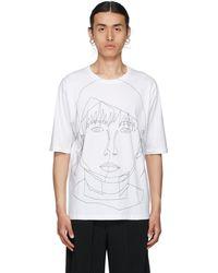 Bless T-shirt Stitched Starcut II blanc