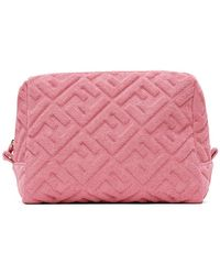 Fendi Pink Large Forever Beauty Pouch