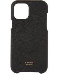 Tom Ford ブラック Iphone 12 ケース