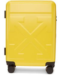 Off-White c/o Virgil Abloh Yellow Arrows Trolley Carry-on Suitcase