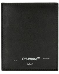 Off-White c/o Virgil Abloh Black Seasonal Logo Card Holder