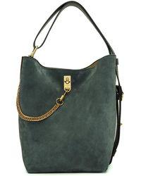 Givenchy - Green And Burgundy Medium Bucket Bag - Lyst