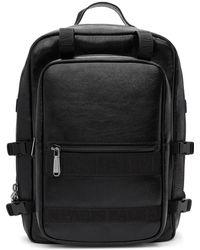 Balmain - Black Finn Backpack - Lyst