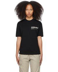 Ambush ブラック Workshop スウェットシャツ