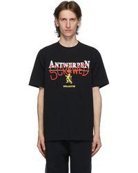 Vetements - T-shirt noir 'Antwerpen Screwed' - Lyst