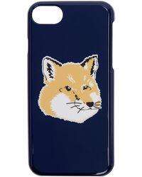 Maison Kitsuné - Navy Fox Head Iphone 8 Case - Lyst