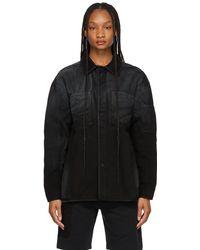 A_COLD_WALL* * Black Spray Jacket