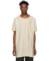 Jan Jan Van Essche Off-white Organic Cotton T-shirt - Natural