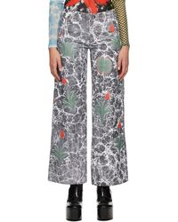 Chopova Lowena Grey Ebrulee Jeans
