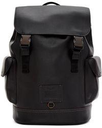 COACH Black Rivington Backpack