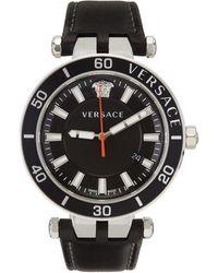 Versace ブラック Greca Sport 腕時計