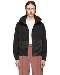 a9221e9624 Black Windbreaker Jacket