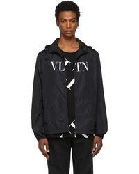 Valentino ブラック Vltn ジャケット