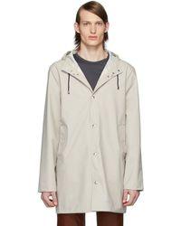 Stutterheim Off-white Stockholm Lightweight Raincoat