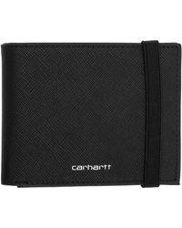 Carhartt WIP ブラック バイフォールド ウォレット