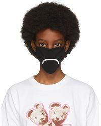 Marc Jacobs ブラック スマイリー フェイス マスク 3 枚セット
