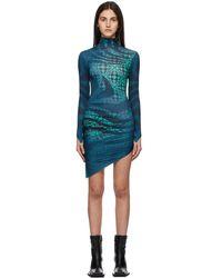 Maisie Wilen - ブルー Orbit City ドレス - Lyst