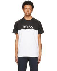 BOSS by Hugo Boss - ブラック & ホワイト T シャツ - Lyst