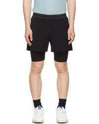 Soar Running Dual Run 2.0 Shorts - Black