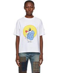 Moncler Genius T-shirt blanc Sylvester 1 Moncler JW Anderson édition Looney Tunes