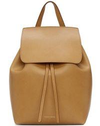 Mansur Gavriel - Tan Mini Backpack - Lyst