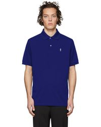 Paul Smith - Ssense Exclusive Blue Gents Polo - Lyst