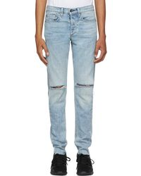 Rag & Bone - Blue Standard Issue Fit 1 Jeans - Lyst