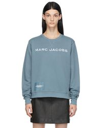 Marc Jacobs ブルー The Sweatshirt スウェットシャツ