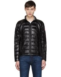 Canada Goose - Black Down Hybridge Lite Jacket - Lyst