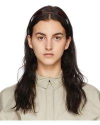 Sophie Buhai Shell Thin Bessette Headband - Brown