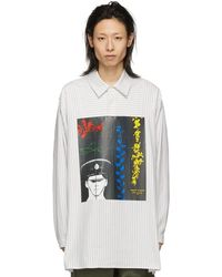 JW Anderson - Gilbert And George Edition オフホワイト プリント チュニック シャツ - Lyst