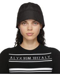 1017 ALYX 9SM ブラック Narrow バケット ハット