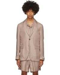 Tiger Of Sweden - Ssense 限定 ピンク Giacca Amf ブレザー - Lyst