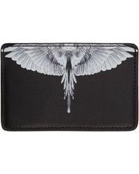 Marcelo Burlon ブラック Wings カード ケース