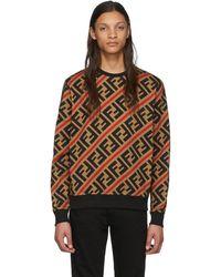 Fendi Tan Forever Sweatshirt - Brown