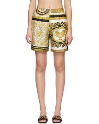 Versace - ホワイト Barocco Mosaic ショーツ - Lyst