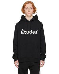 Etudes Studio Études ブラック Klein フーディ