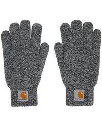 Carhartt WIP Black & White Scott Gloves