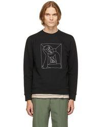Norse Projects Geoff Mcfetridge エディション ブラック Vagn Boredom ロゴ スウェットシャツ
