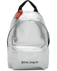 Palm Angels シルバー ロゴ バックパック - マルチカラー