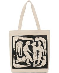 Norse Projects Beige Geoff Mcfetridge 'gm X Np' Tote - Natural