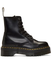 Dr. Martens - Black Jadon Boots - Lyst