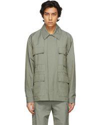 Stella McCartney Khaki Shared 23 Obs Jacket - Green