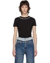 Maison Margiela Numbers T-shirt - Black