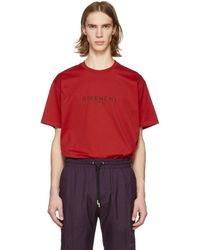 Givenchy - Men's Distressed Logo T-shirt - Lyst