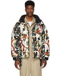 Burberry - Multicolor Tissington Down Puffer Jacket - Lyst