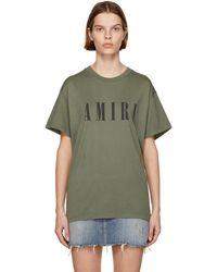 Amiri カーキ Core ロゴ T シャツ - グリーン