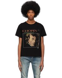 Enfants Riches Deprimes ブラック Chopin T シャツ