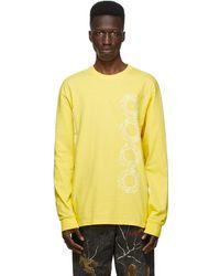 AWAKE NY Yellow Ceremony Long Sleeve T-shirt