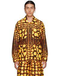 Charles Jeffrey LOVERBOY Yellow & Black Workwear Jacket